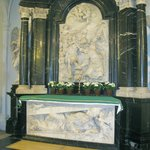 Tomb of St Boniface in the crypt of Cathedral