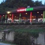 La Strada at night
