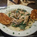 The Manicotti with mushrooms, spinach, & grilled chicken was tops!