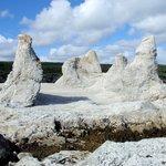 """Rock formations - """"frozen trolls"""""""