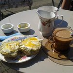 afternoon coffee in the sun :)