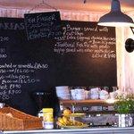 Farm Cafe, Menu