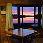 View from cabin 7