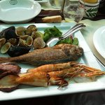 Absolutely wonderful, fresh local seafood