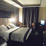 Quarto de casal no Hotel Atala- Paris .França.