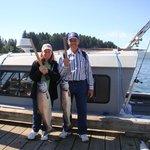Two King Salmon
