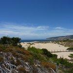 les dunes avant plage de guincho