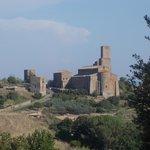 san pietro tuscania - panoramica da v. roma