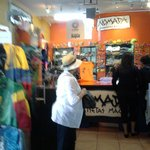 One of the stores located on the second floor that has everything Ecuadorian!