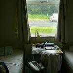 habitación para dos personas con baño compartido