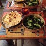 tartiflet and sangria - yummm