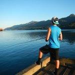 An absolute beautiful day in Juneau Alaska