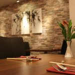 New welcoming and warm restaurant interior