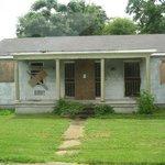 a house on the hurricane Katrina tour