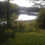 Lake in Shorehills camp right on the lake watch the tide