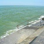 marée haute à Wimereux