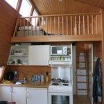 Cabin inside view