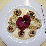 noix de saint jacques au caviar d aquitaine