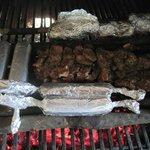 Smoked Jerked Pork & Sausage