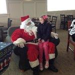 Santa Likes Crazy Cow
