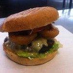 yummy American burger....