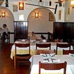 Vista do interior do Restaurante