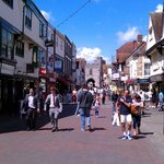 Canterbury High Street looking to West Gate
