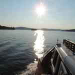 Aboard the Doris scenic boat ride