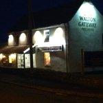 Walton Gateway at night