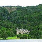 Trossachs Hotel on the banks of Loch Achray