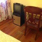 Room refrigerator and TV