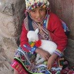 Indigena Child in the Market