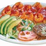 #10- Camarones al Mojo de Ajo-Large delicious grilled shrimp marinated with a homemade garlic sa