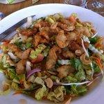 Salade Thaï avec Beignets de poissons