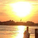 sunset at m.r.ducks
