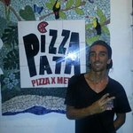 The owner of Pizza Pata Manuel Antonio! !!!! Thanks to him we have the best pizza in town!!!! !