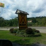 The entrance of KOA