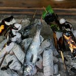 Vegetables and River Fish,...