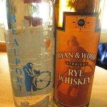 Vodka and Rye WhisKey