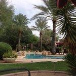 Rancho Manana poolside
