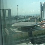 Top Floor View of Marina Bay