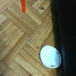 Filth under lounge suite