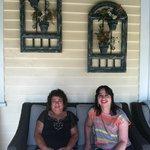 comfy front porch