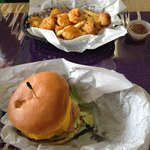 Bubba Burger and the Fried Seafood Trio