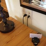 outlets and Power by the Desk; Wichita Homewood Suites