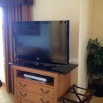 TV swivels so you can watch in bed,at the desk, or at the table Wichita Homewood Suites