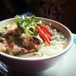 Special Vietnamese rice noddle (noodle buy directly from a small villiage on East North Vietnam)