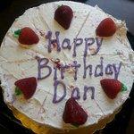Crappy Birthday Cake I got!