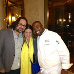Myself and my fiance with Chef Benny. What an amazing man!