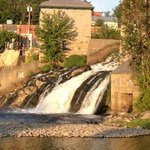 Otter Creek Falls in downtown Vergennes